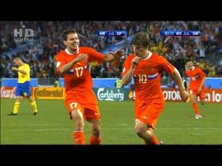 (HD) Россия 2-0 Швеция / 2008 UEFA Euro / Russia vs Sweden