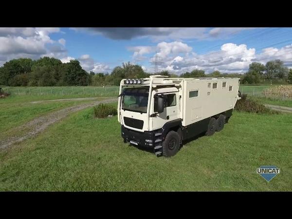 UNICAT Expedition Vehicles - Part 3 MD77H MAN TGS 33.540 - 6X6 Drive Cab