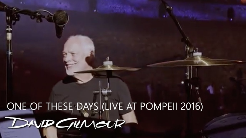 David Gilmour One Of These Days Live at Pompeii 2016
