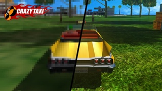 Crazy Taxi | 4K Extreme Graphics Raytracing Mod + AI Upscaled Textures Gameplay