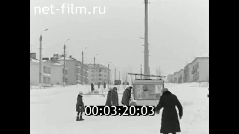 1985г село Вятское колхоз Рассвет Советский район Марий Эл
