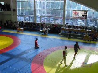 Всероссийский турнир по самбо г.Краснокамск 2010 Финал Рочев Олег. часть 1