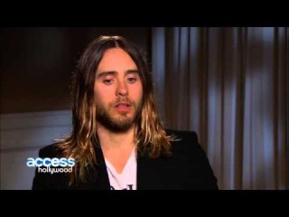 Jared Leto Talks Gaining & Losing Weight For Movie Roles  Which Is Harder    Access Hollywood