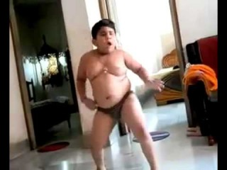 OMG Funniest Video EVER! - Chubby Indian Kid Dancing LOL