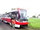 Short circuit in tram - 1029 _ Zkrat do vozu..