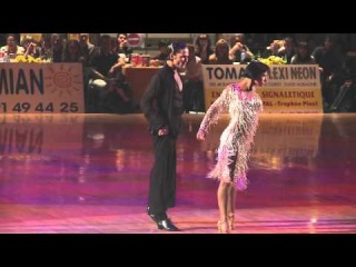 2011 IDSF European Latin Final: Cha Cha by ITA