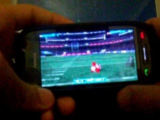 ●Backbreaker Football на Symbian ^3(Nokia C7-00)