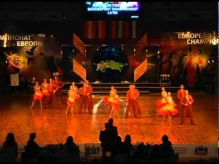 IDSF European Formation Latin Championship 2011 finale, Zuvedra B, Lithuania, Klaipeda