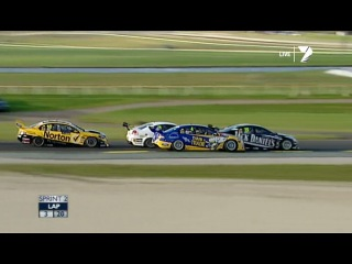 V8 Supercars 2012. Этап 10 - Сэндаун. Вторая квалификационная гонка