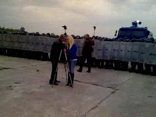 Авіабаза Черляни.Курсанти проти Беркута.26.09.2013