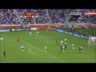 Аргентина - Германия 0:4 ЧМ-2010 ЮАР