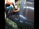 BMW абразивная полировка кузова