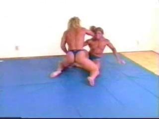 FBB Wrestling Lora vs Renee