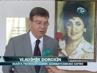 Rusiya Federasiyasının Azərbaycandakı səfiri Xaçmazda rus dili dərsində iştirak edi