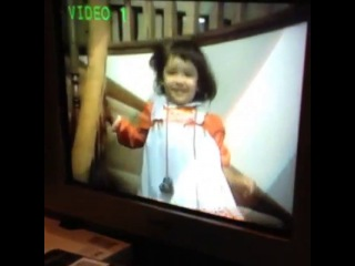 Throwing it way back with this video my parents just sent me Apparently ca ca was my favorite word at the time Oh man 🙈🙊