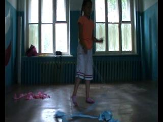 Ксения Бурханова 6 июля 2014 Бебегон тренировки