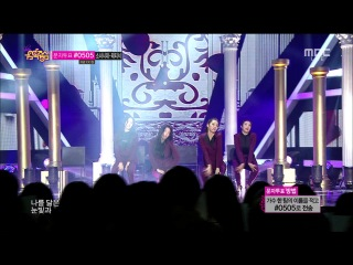 141011 Red Velvet - Be Natural @ Music Core Comeback Stage