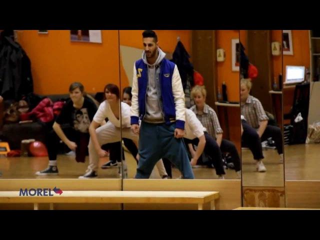 Ples hip hop - Plesna šola Bolero [Sprehod skozi čas - 21.01.2012]