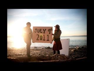 Необычное и романтичное приглашение на свадьбу, снятое в технике стоп-моушн