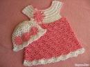 Детское платье Вяжем кокетку Baby dress Knit Flirty