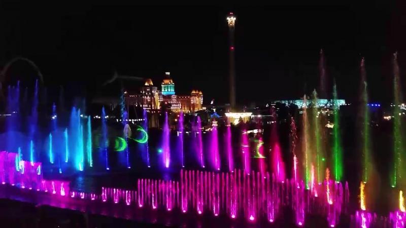 Лазерное шоу Сочи Парк