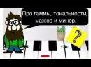 5 урок Гаммы ЗНАКИ АЛЬТЕРАЦИИ Ладовое наклонение ТОНАЛЬНОСТИ Курс MUSIC THEORY