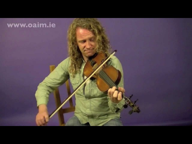 Clare Style Fiddle Lesson with Tola Custy from Online Academy of Irish Music