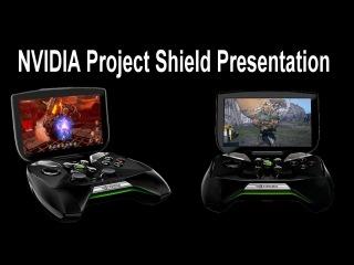"NVIDIA ""Проект Щит"" - презентация на CES 2013"