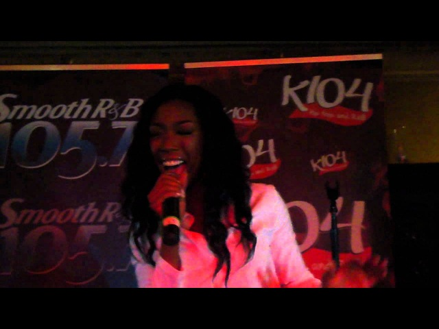 Brandy Almost Doesn't Count Live the House of Blues 16 июля 2012 Даллас