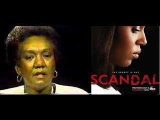 Dr. Frances Cress Welsing: SCANDAL & SLAVE MOVIE Propaganda...