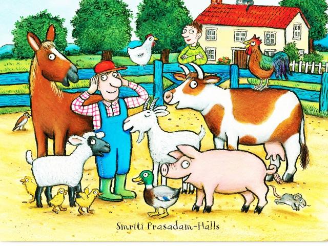 Будни Фермера. Экскурсия в фермерское хозяйство наших соседей. Коровы, свиньи, собаки и лошадь