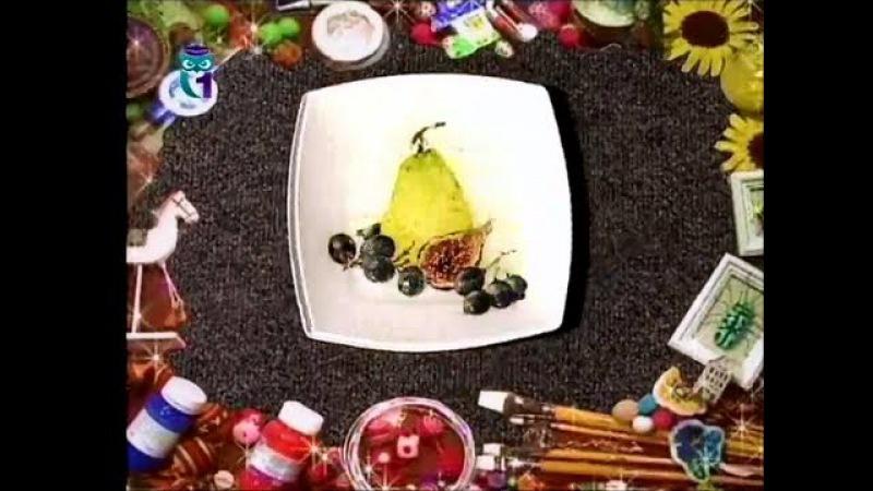 Декупаж Декорируем поднос и тарелку используя трехслойные бумажные салфетки Мастер класс