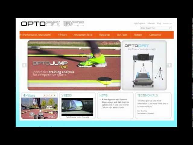 Discovering the Next Generation of Assessment Technology OptoGait Part 2