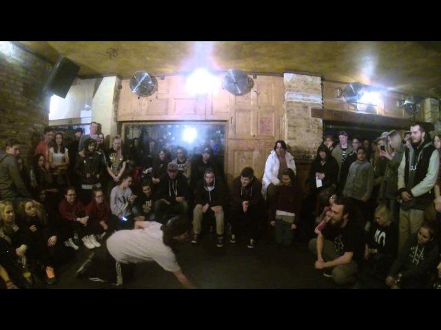 Hip Hop battle - Mulla Zuev (The ZOO Clan) vs Jasiek (Co Jest Crew)
