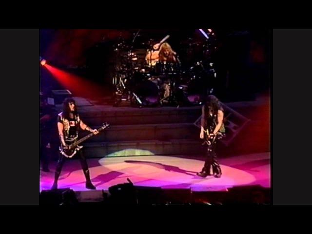 KISS Watchin' You Hotter Than Hell Firehouse Live Detroit 1992