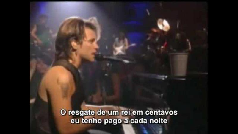 Bon Jovi Bed Of Roses legendado