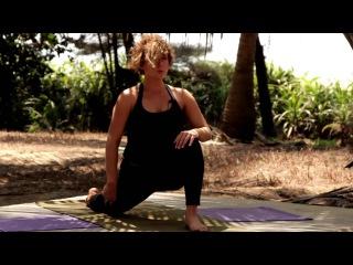 Darya  Yoga -Easy Ground Work - Full 58 Minute