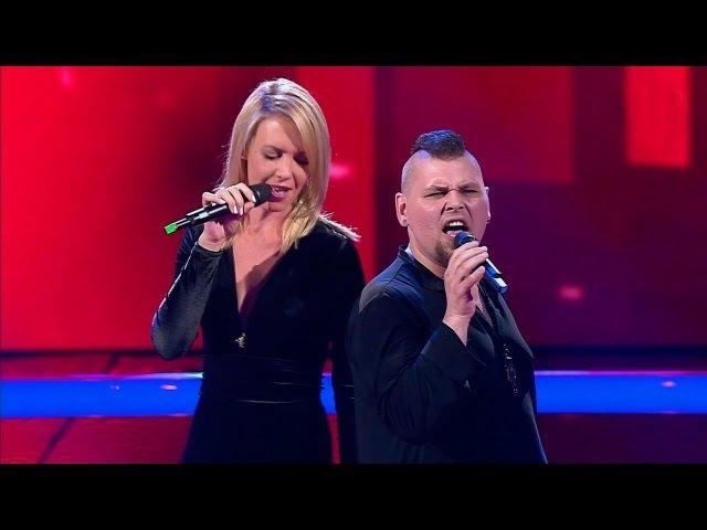 Михаил Озеров и Алина Перова Jesus Christ Superstar Поединки Голос Сезон 4
