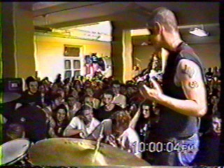 No Justice - Last Show Washington DC 12/2000 (back of stage view)