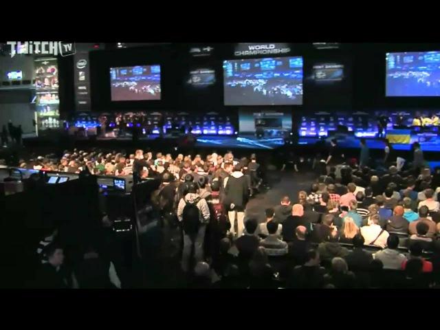 Гранд-финал IEM6: ESC vs. Na`Vi - церемония открытия (часть 2)