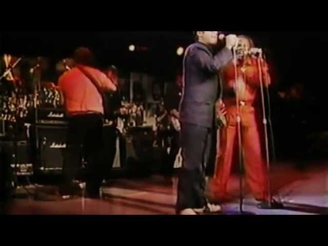 The Elwood Blues Review Sam Moore Steve Cropper Phil Collins Wilson Pickett @ M S G 1988
