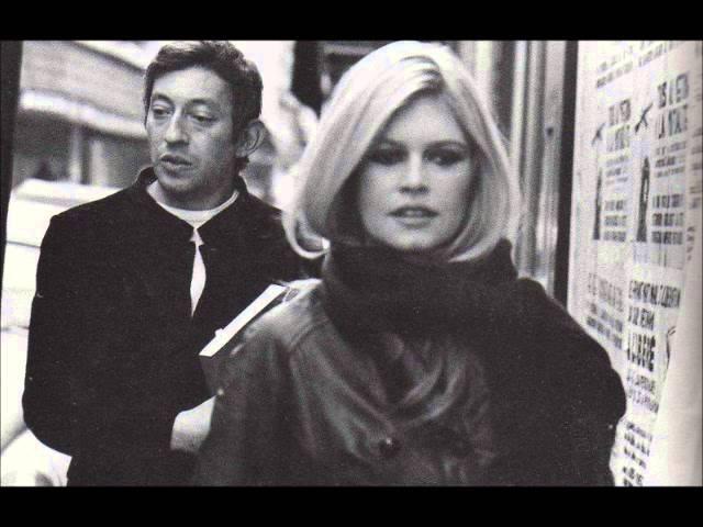 Serge Gainsbourg and Brigitte Bardot Comic Strip