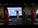 Выход в вечерних платьях участниц конкурса Мисс здоровый образ жизни
