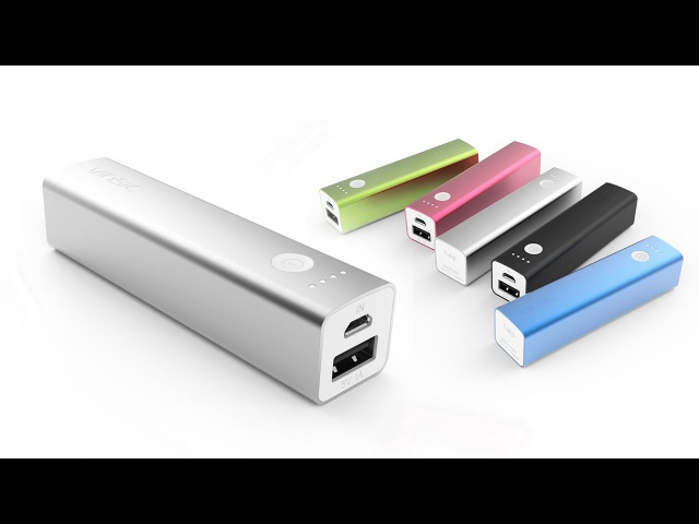 Vinsic Tulip 3200mAh Banca di potere 5V 1A mobile esterno del caricabatteria Pack per iPhone