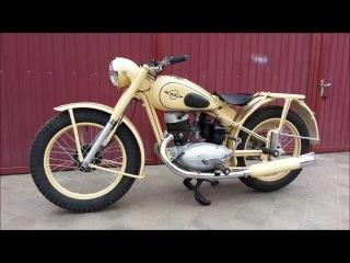 Советский мотоцикл ИЖ-49 реставрация (Soviet motorcycle IZ-49 restoration)