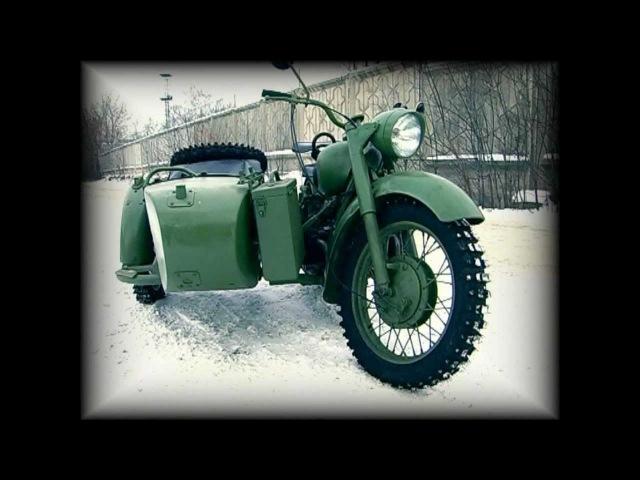 Мотоцикл МВ 750 (полноприводный)