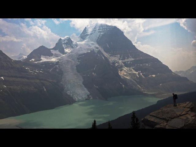 Berg Lake Trail Mt Robson BC Canada in 4K Ultra HD