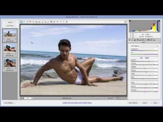 Editorial Retouch From Start To Finish, Part 3 - Camera raw and smart objects workflow