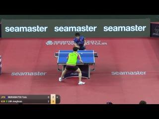 2017 Korea Open Highlights: Yuto Muramatsu vs Lim Jonghoon (R32)