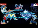 MLB The Show 17 Miami Marlins vs. Tampa Bay Rays Predictions MLB2017 (4th May 2017)